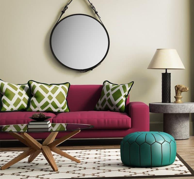 Яркая мебель для гостиной 3
