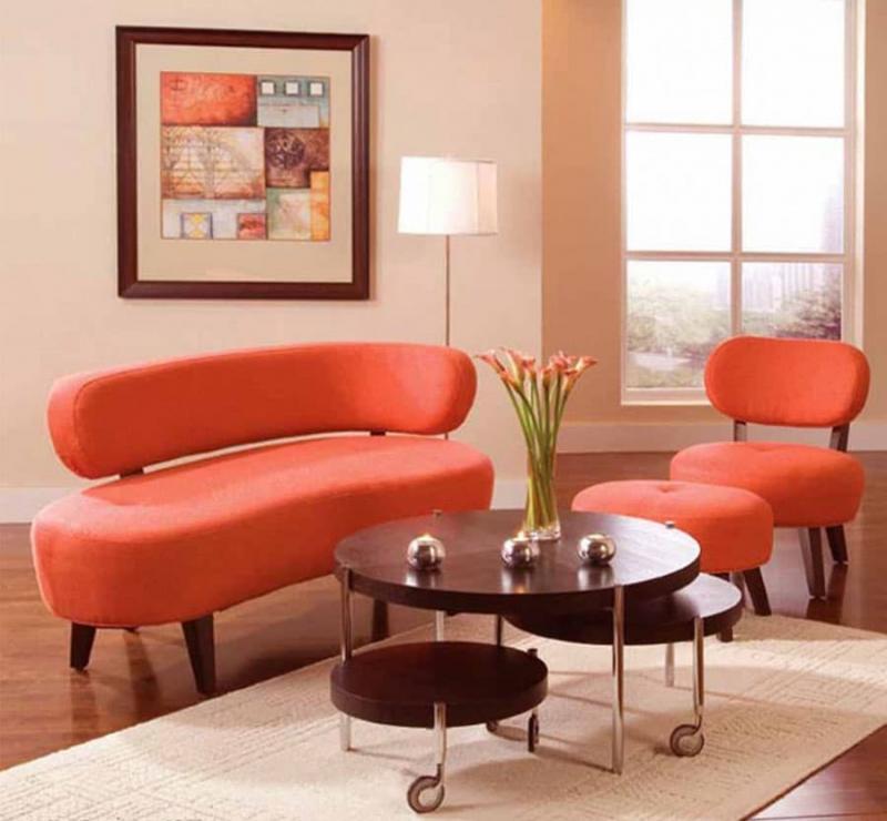 Яркая мебель для гостиной 4