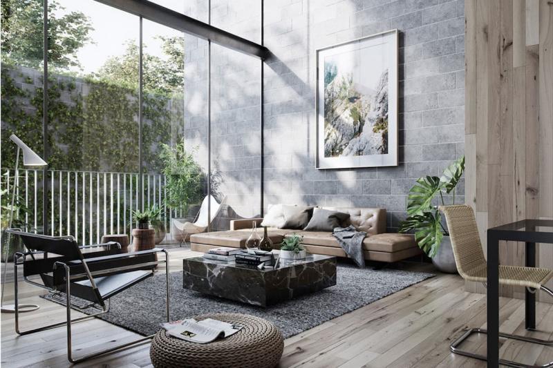 Дизайн интерьера гостиной 10