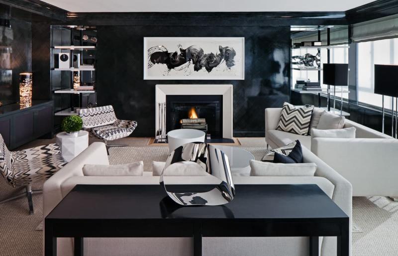 Дизайн интерьера гостиной 5