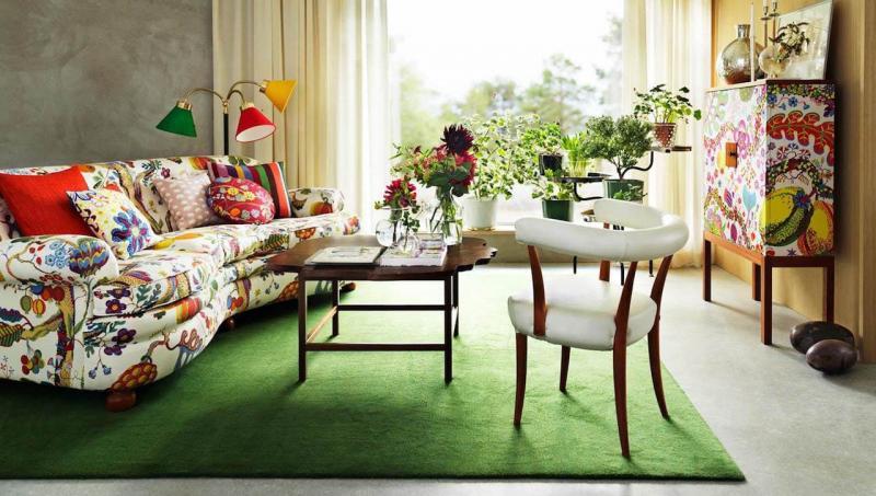 Дизайн интерьера гостиной 7