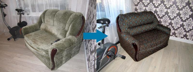 Новая жизнь старого дивана 3