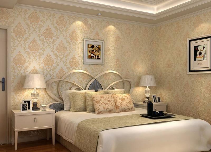 Обои для спальни в классическом стиле 3