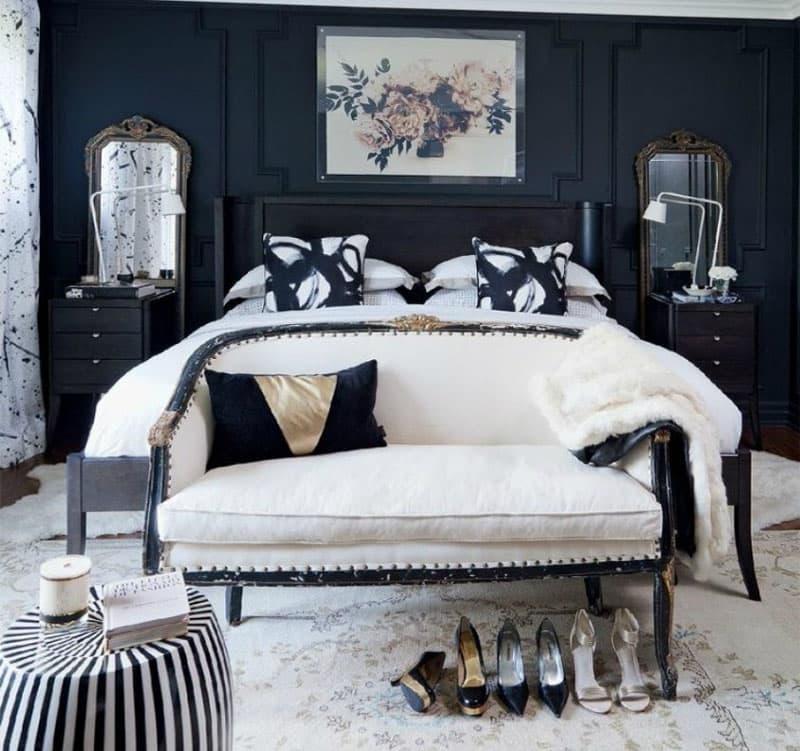 Черная мебель 1