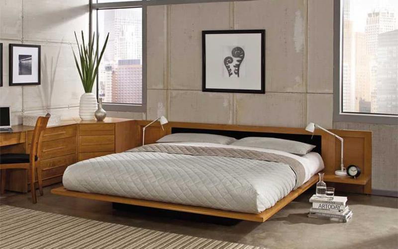 Кровать без изголовья 2