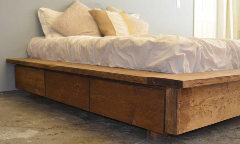 Кровать без изголовья 5