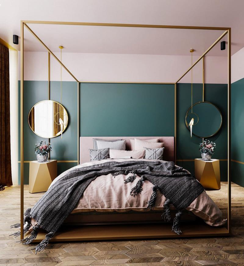 Кровать с балдахином 2