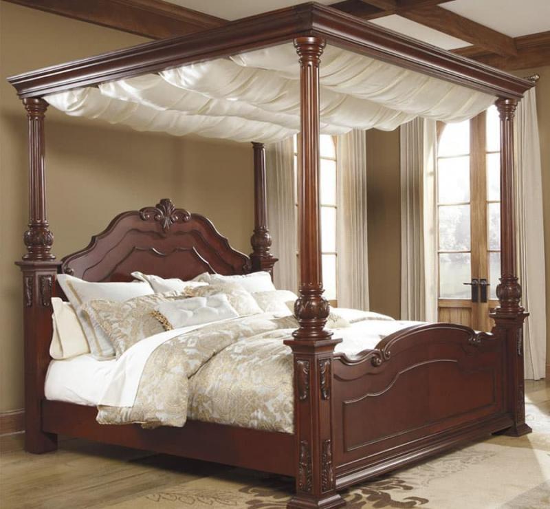 Кровать с балдахином 4