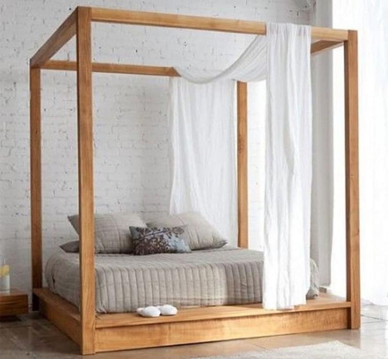 Кровать с балдахином 5