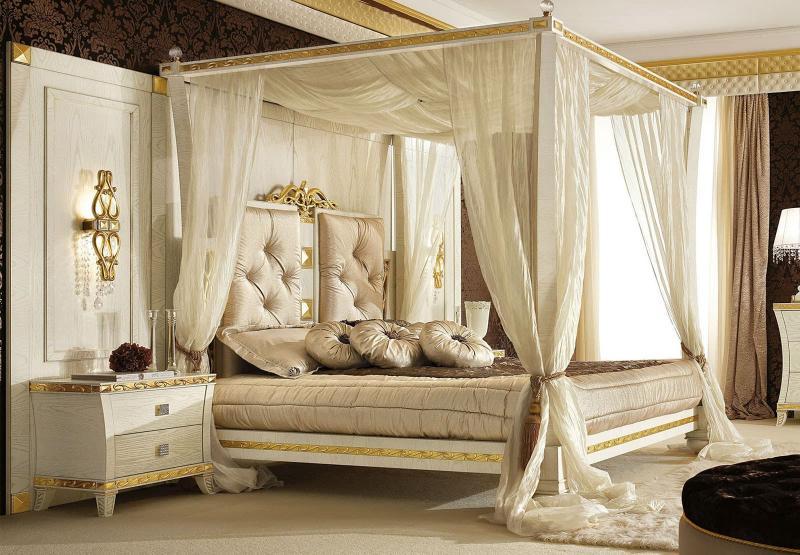 Кровать с балдахином 6