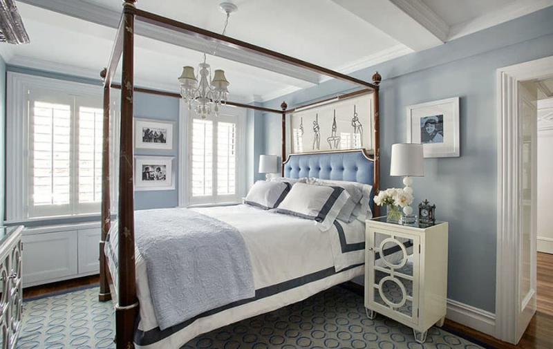 Кровать с балдахином 8