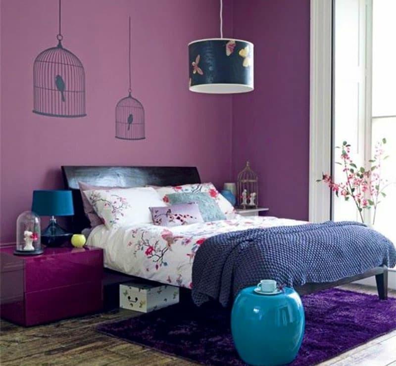 Монохромный интерьере спальни 6