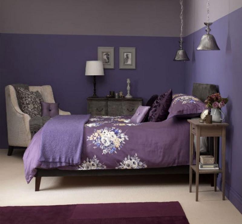 Монохромный интерьере спальни 8