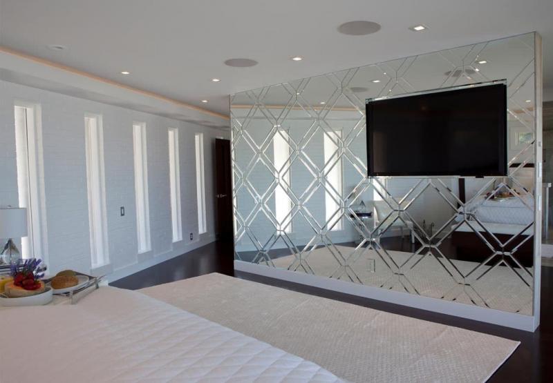 Оптические иллюзии в интерьере спальни 2