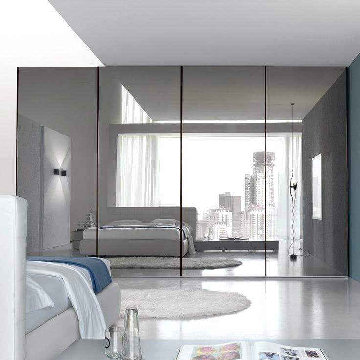 Оптические иллюзии в интерьере спальни 6