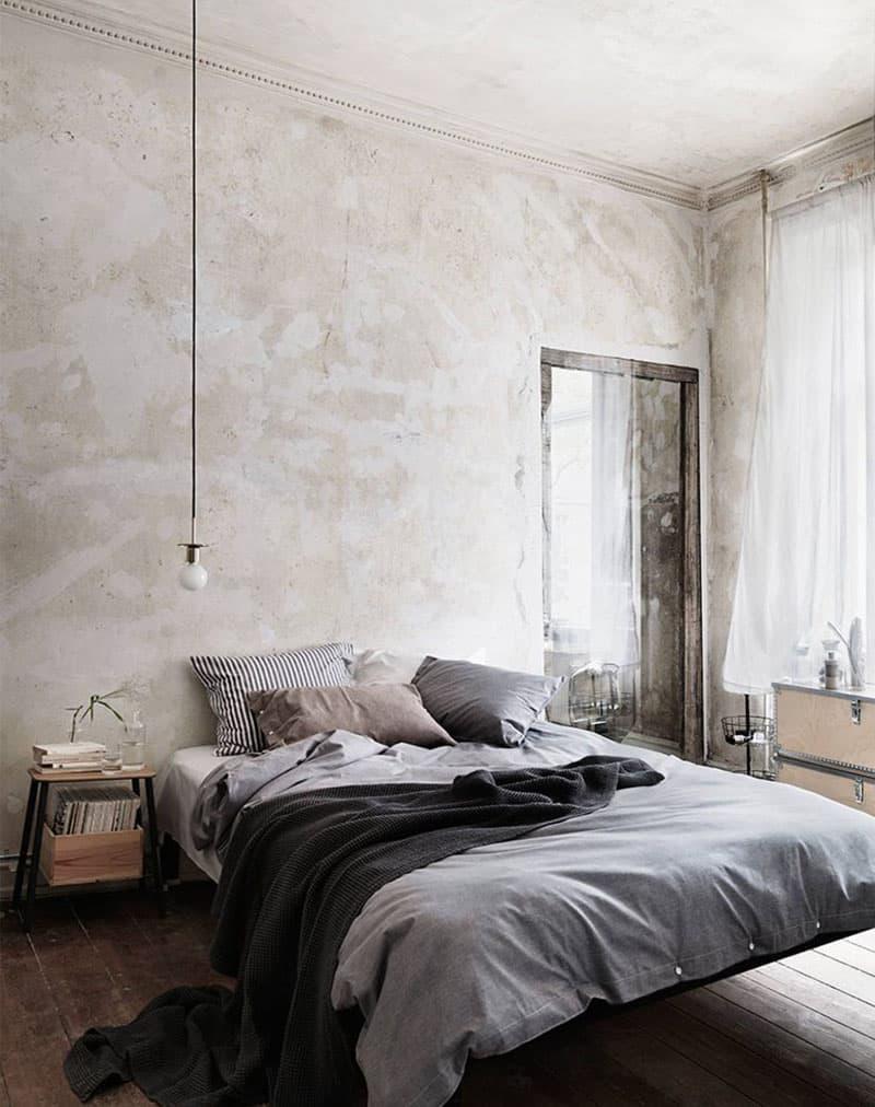 Спальня 2018 в стиле лофт 2