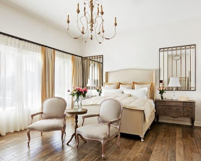 Спальня с зоной для общения 4