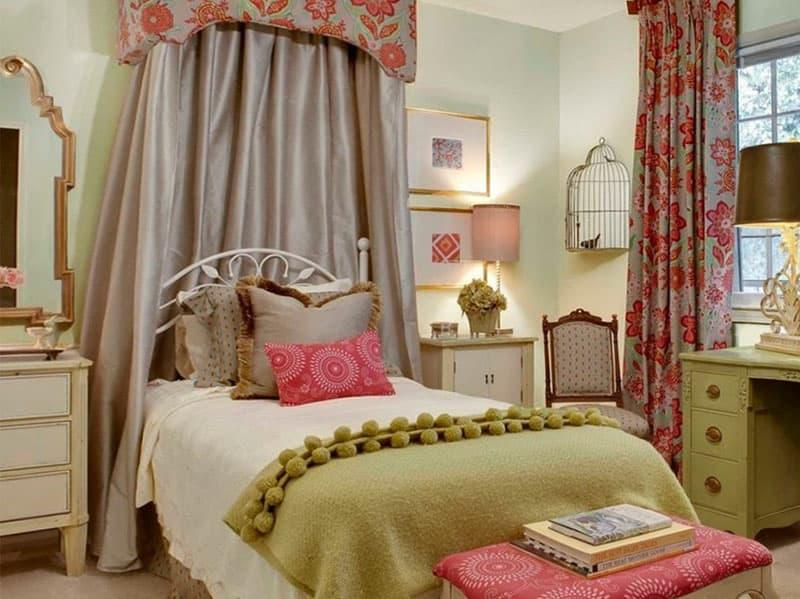 Аксессуары для спальни в стиле прованс 3