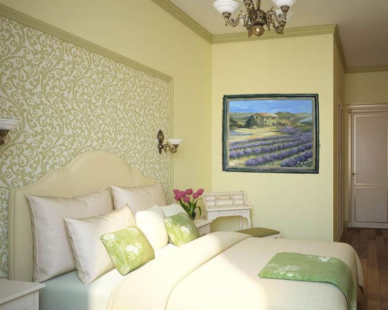 Кровать для спальни в стиле прованс 1
