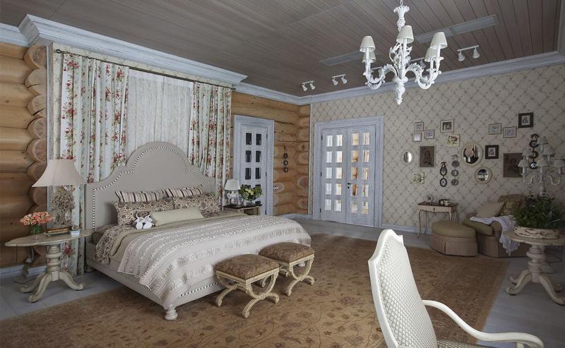 Материалы для спальни в стиле прованс 6