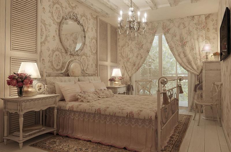 Мебель для спальни в прованском стиле 1
