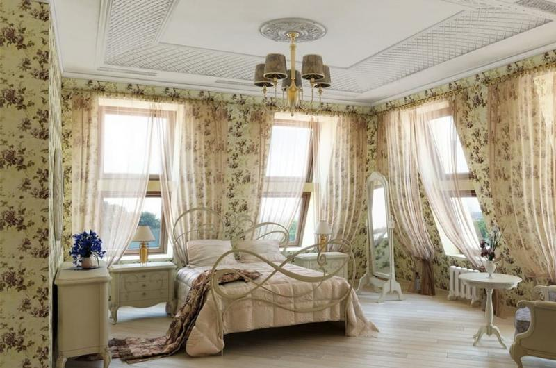 Мебель для спальни в прованском стиле 4