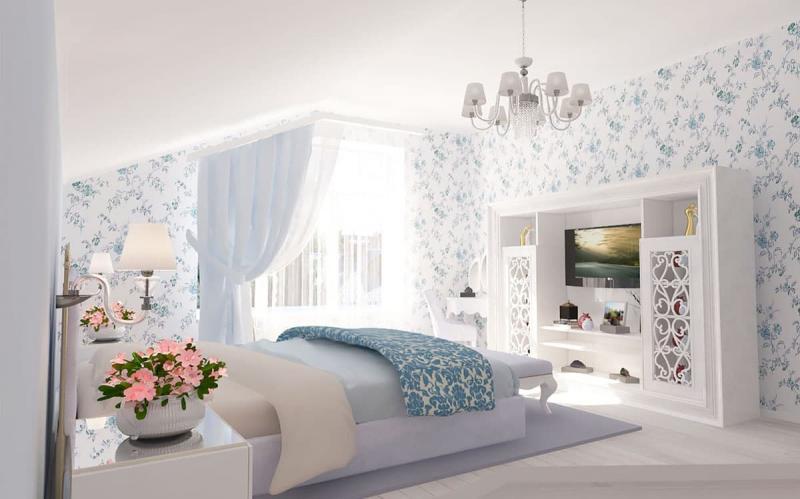 Мебель для спальни в прованском стиле 9