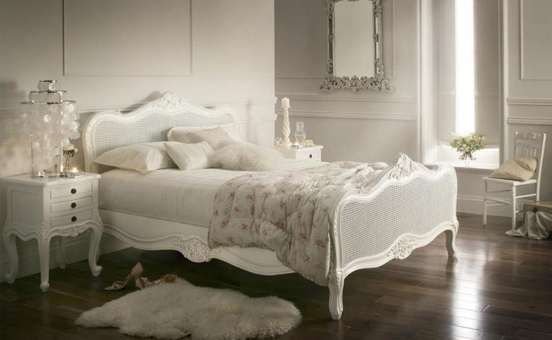 Пол в спальне в стиле прованс 3