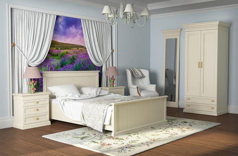 Современные идеи для спальни в стиле прованс 4
