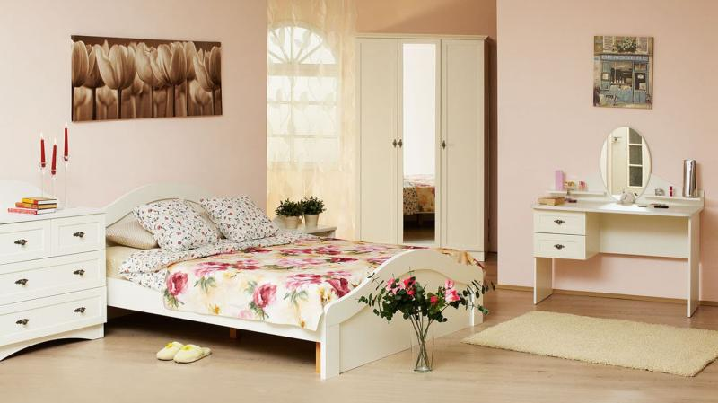 Современные идеи для спальни в стиле прованс 5