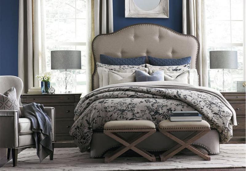 Современные идеи для спальни в стиле прованс 6