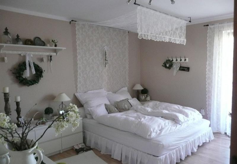 Спальня в стиле прованс в квартире 7
