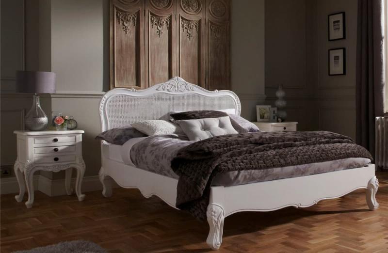 Темные оттенки в спальне прованс 3