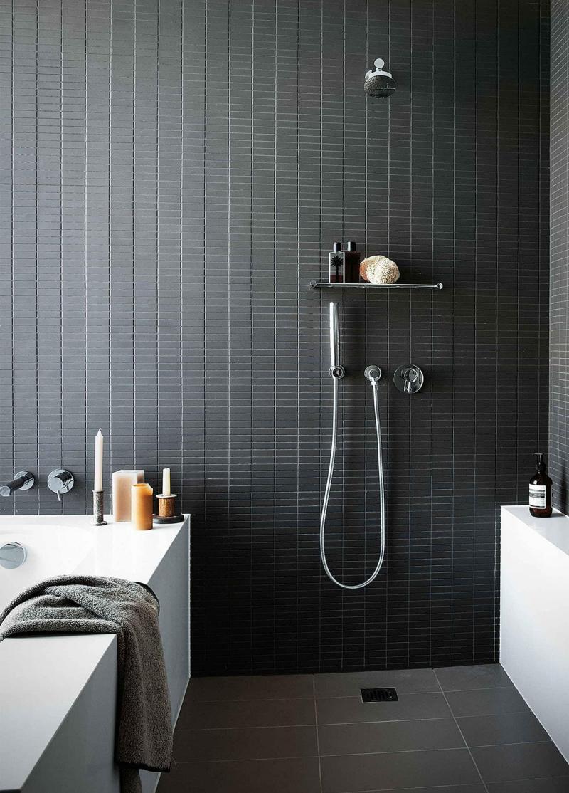Открытый душ в ванной комнате 3