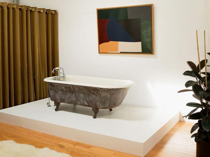 Ванная в спальне 2