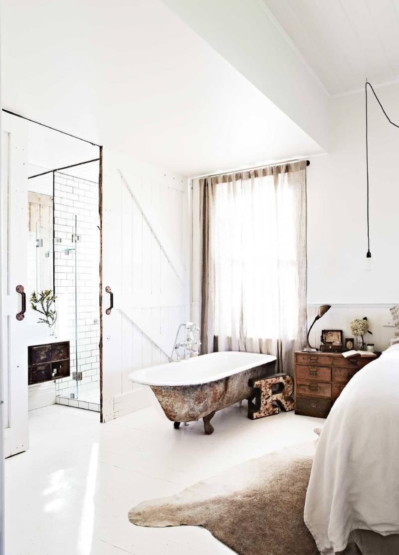 Ванная в спальне 3