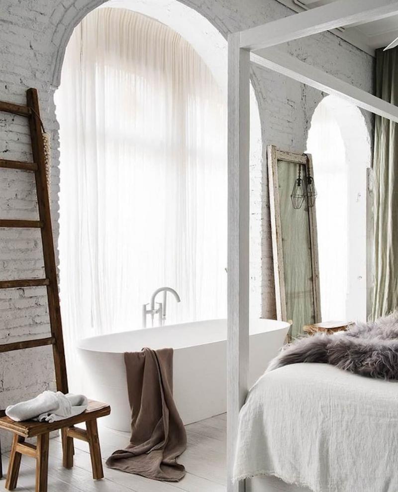 Ванная в спальне 4