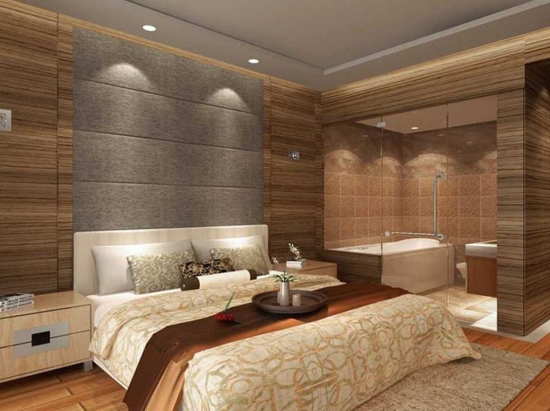 Ванная в спальне 6