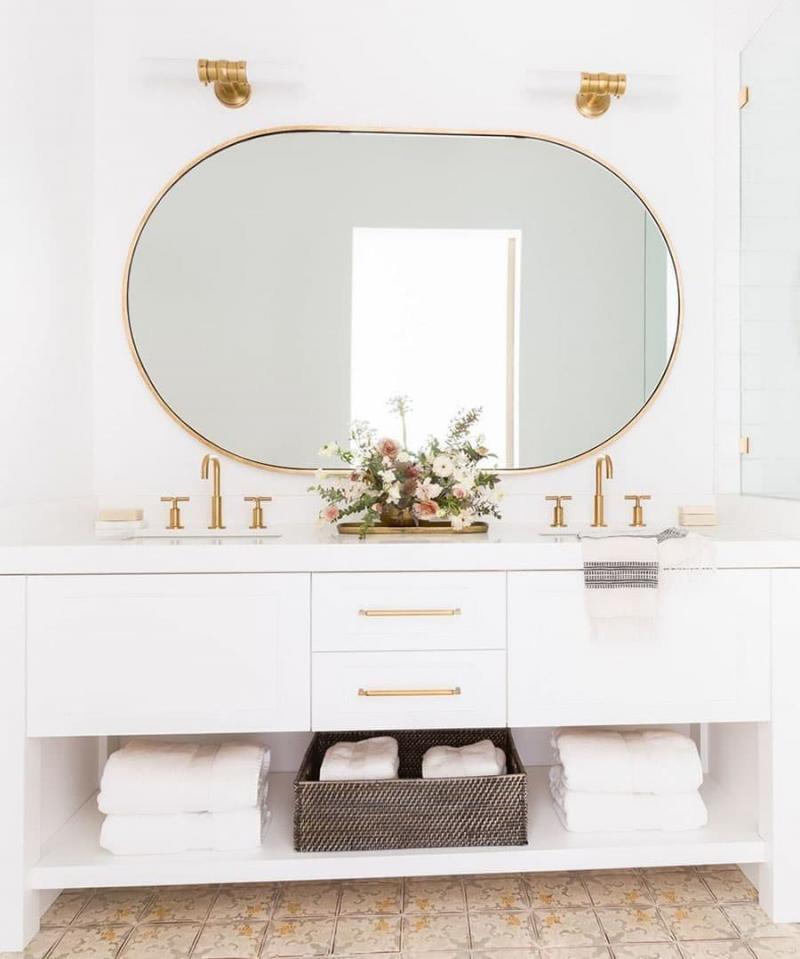 Зеркало в ванной комнате 2018 1