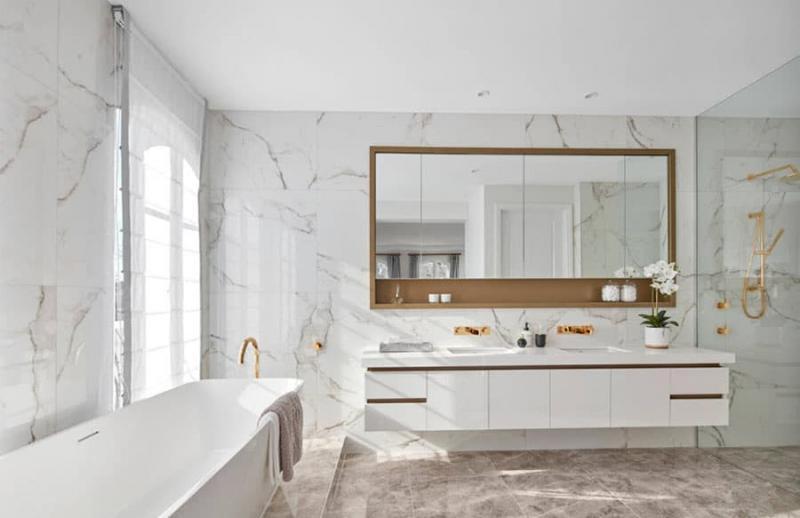 Зеркало в ванной комнате 2018 3