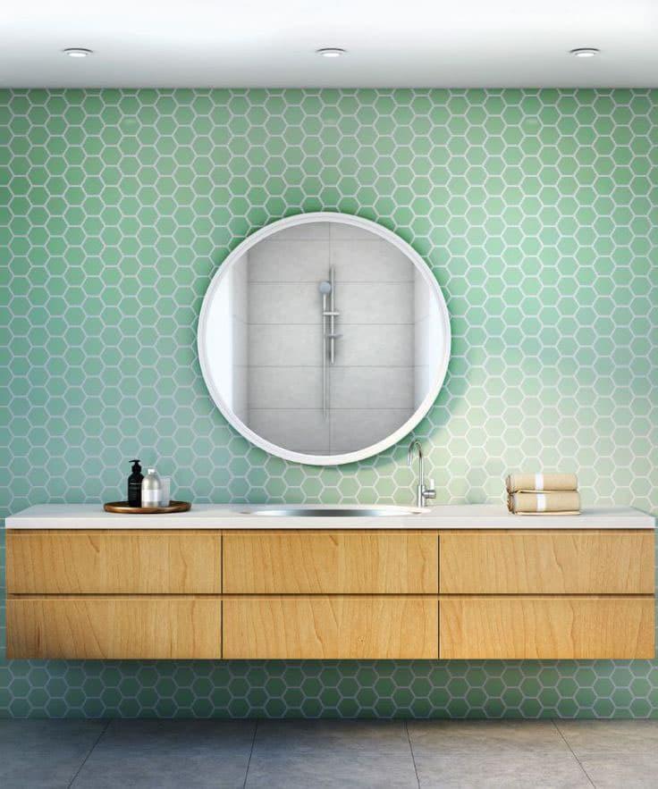 Зеркало в ванной комнате 2018 4