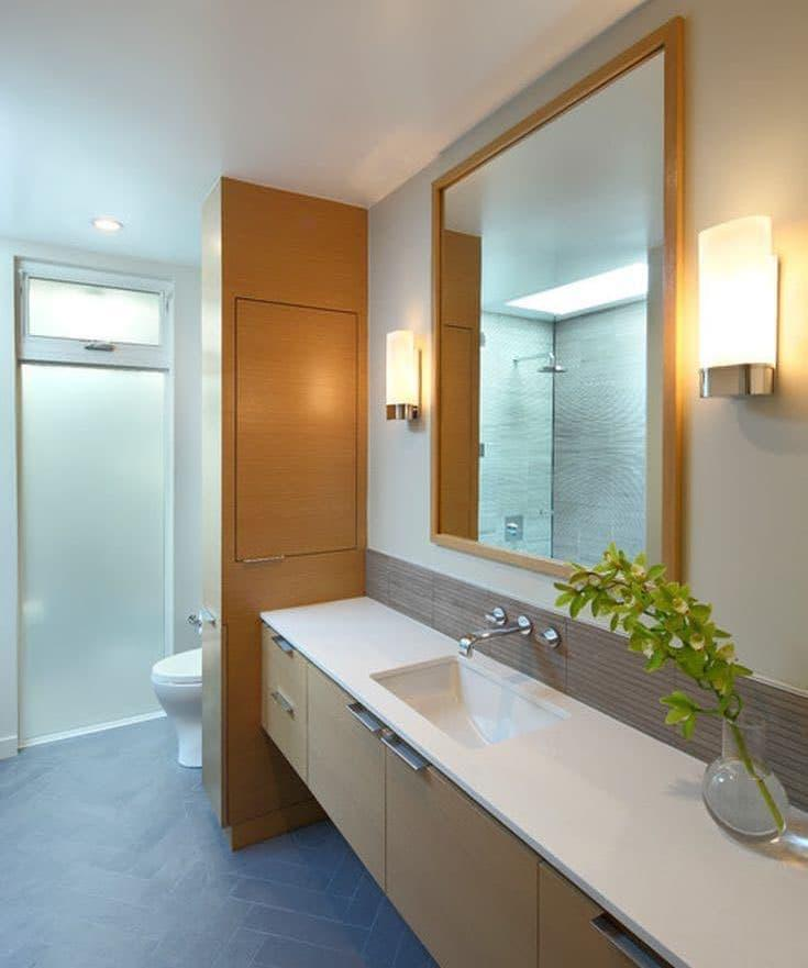 Зеркало в ванной комнате 2018 5