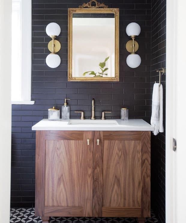 Зеркало в ванной комнате 2018 6