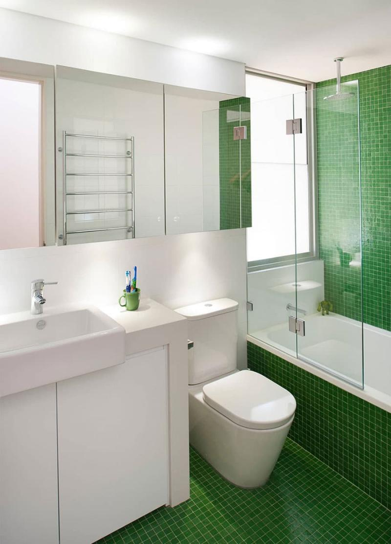 Дизайн маленькой ванной комнаты 7