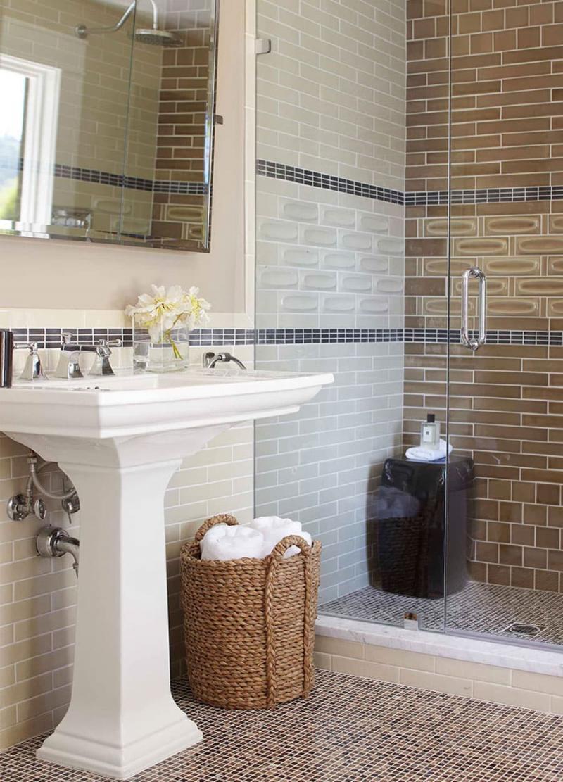 Дизайн маленькой ванной комнаты 8