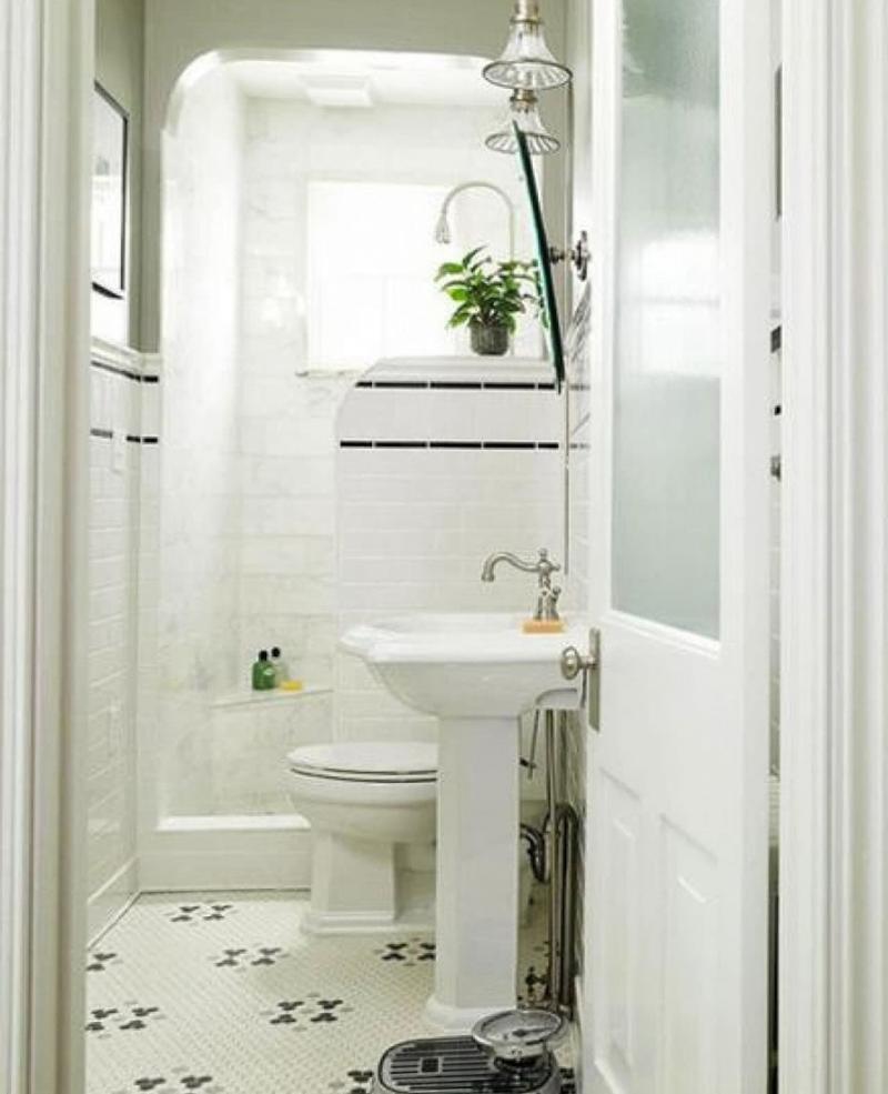 Интерьер ванной комнаты 4 кв м 1