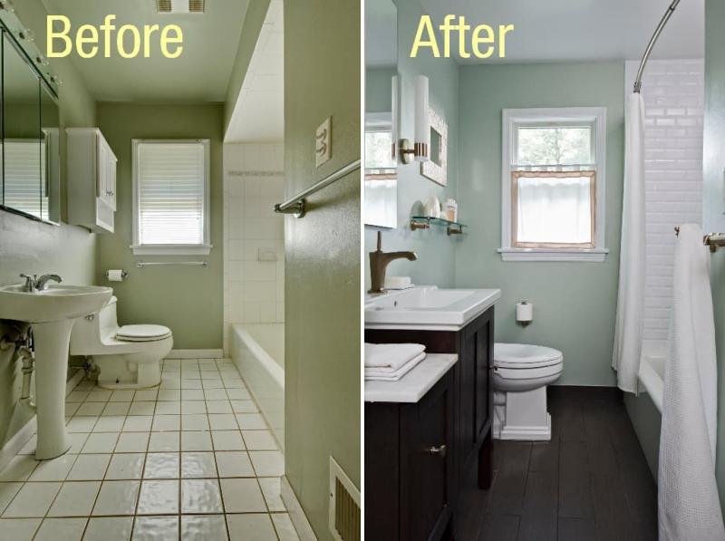 Как визуально сделать маленькую ванную просторнее 2