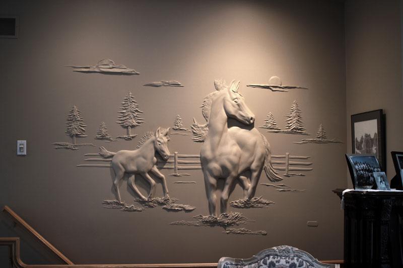 Берни Митчелл и его скульпутрные шедевры 2