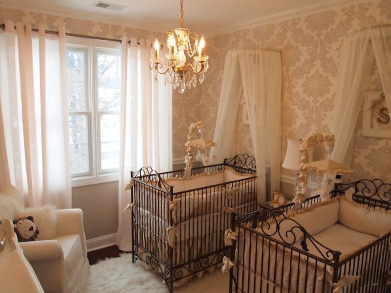 Детская комната близнецов Дженифер Лопез