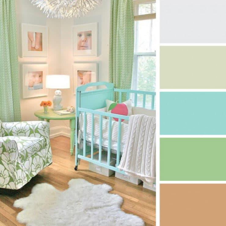 Цветовая схема по фото 3
